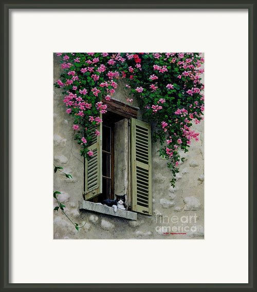 La Chad Framed Print By Michael Swanson
