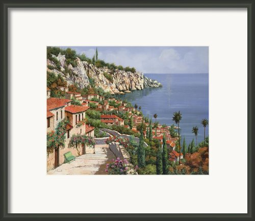 La Costa Framed Print By Guido Borelli