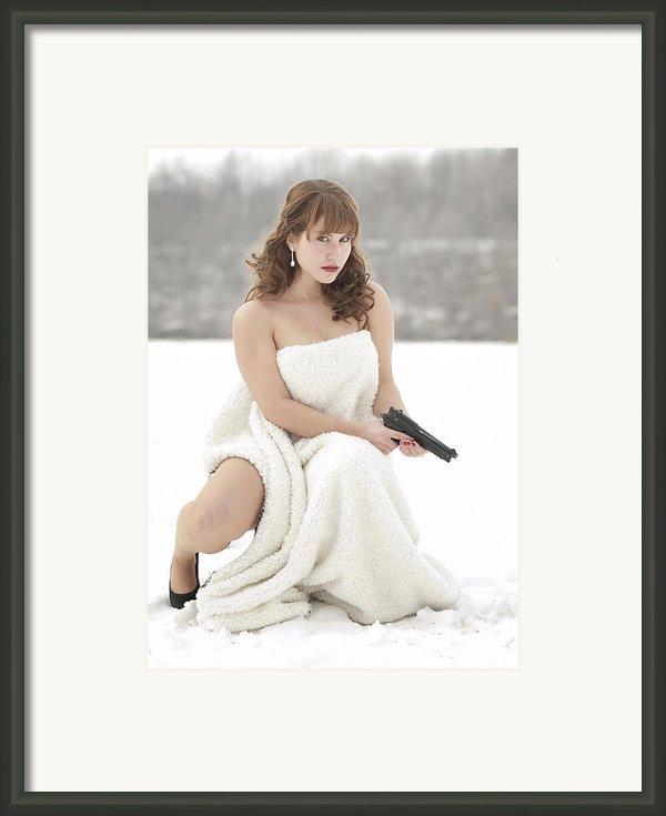 La Femme Framed Print By Brian Mollenkopf