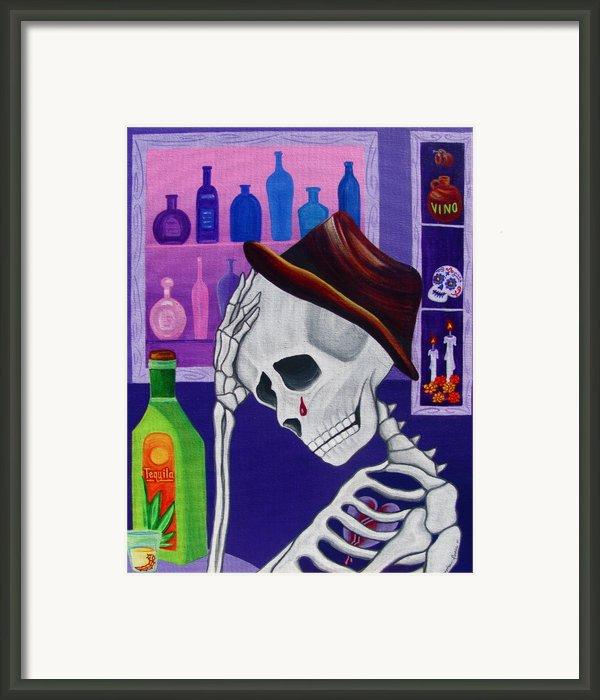 La Vida No Vale Nada Dos Framed Print By Evangelina Portillo