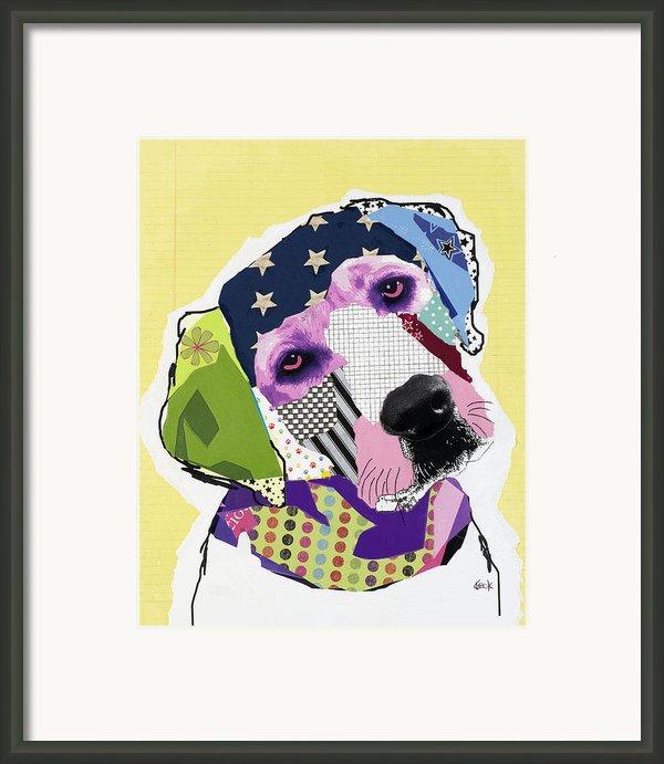 Labrador Retriever Framed Print By Michel  Keck