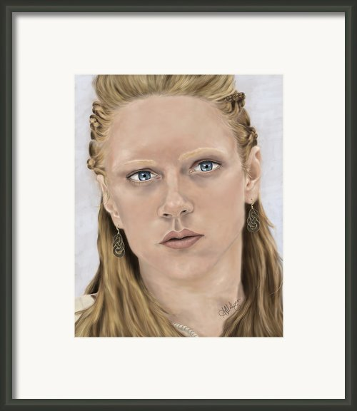 Lagertha Framed Print By Amanda Makepeace