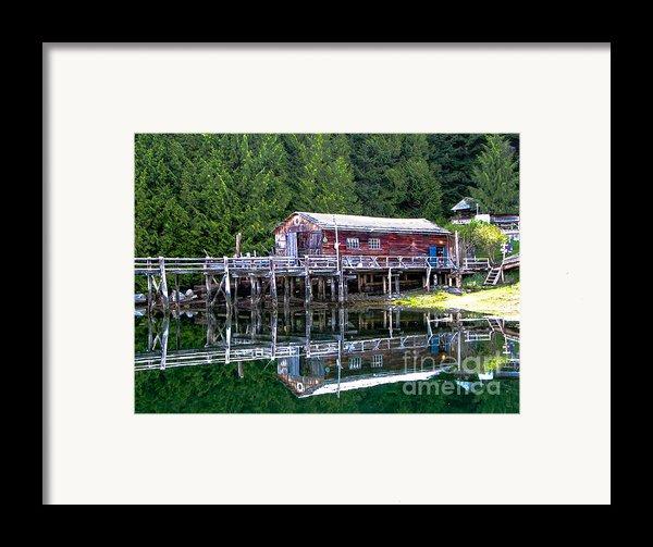 Lagoon Cove Framed Print By Robert Bales