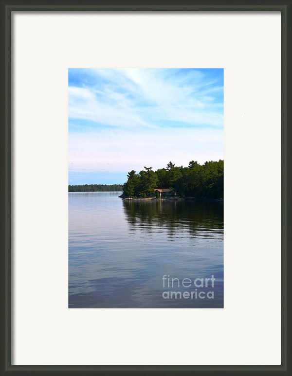 Lake Champlain 10 Framed Print By Sarah Holenstein