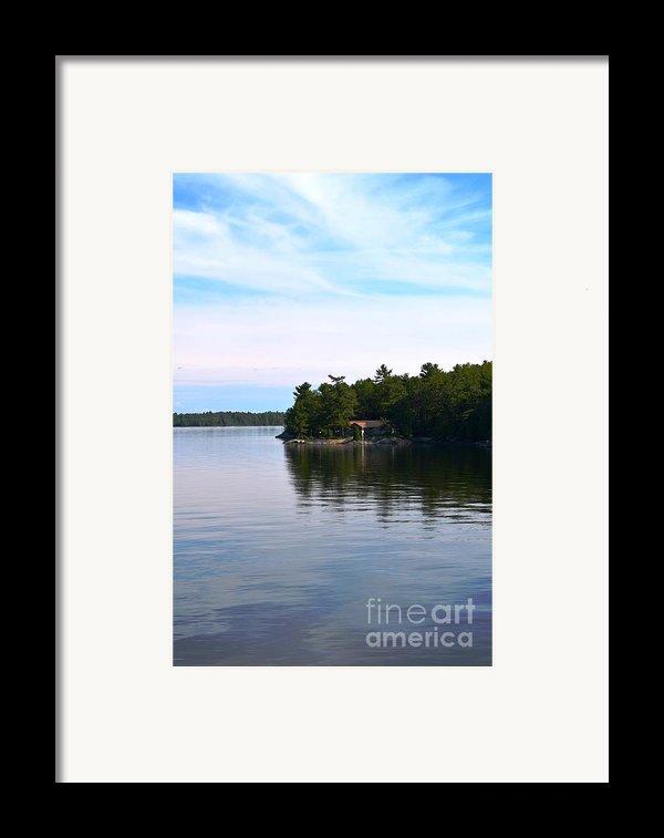 Lake Champlain 10 Framed Print By Sarah Holenstein