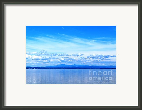 Lake Champlain 11 Framed Print By Sarah Holenstein