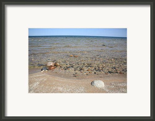 Lake Huron Framed Print By Frank Romeo