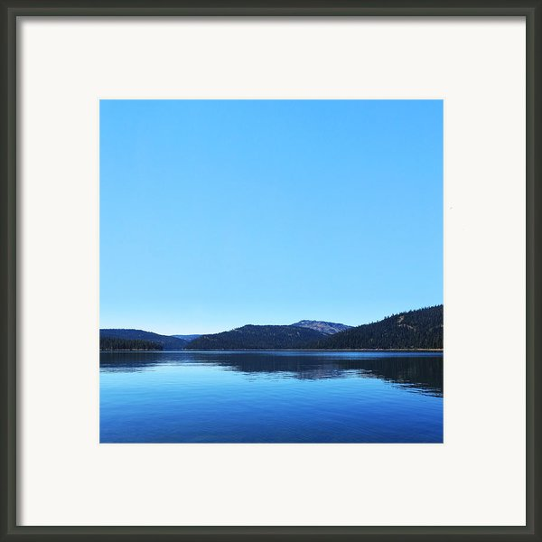 Lake In California Framed Print By Dean Drobot