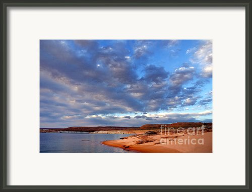 Lake Powell Morning Framed Print By Thomas R Fletcher