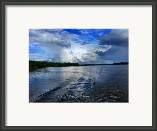 Lake Tuscaloosa Framed Print By Bonita Moore
