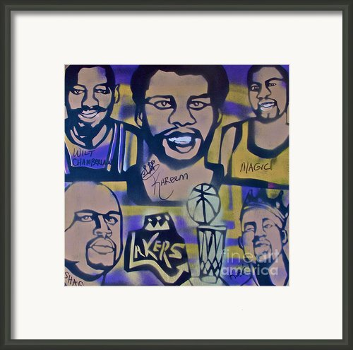 Laker Love Framed Print By Tony B Conscious
