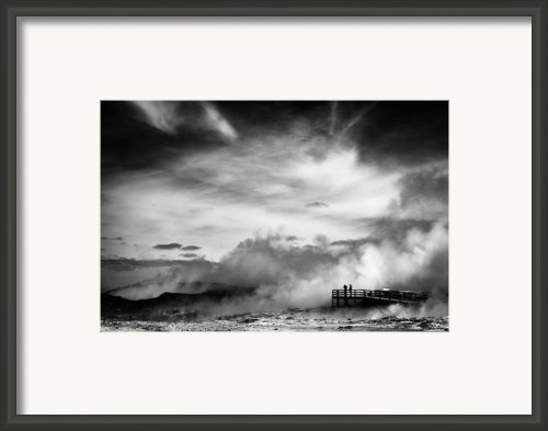 Land Of Fire Framed Print By David Bowman
