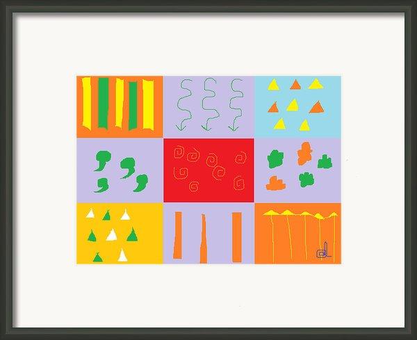 Larnaca Shop Window 9 Framed Print By Anita Dale Livaditis