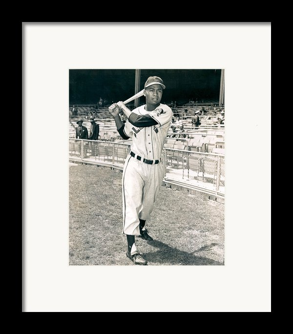 Larry Doby Framed Print By Retro Images Archive