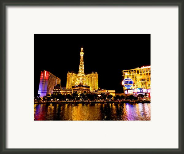 Las Vegas 012 Framed Print By Lance Vaughn