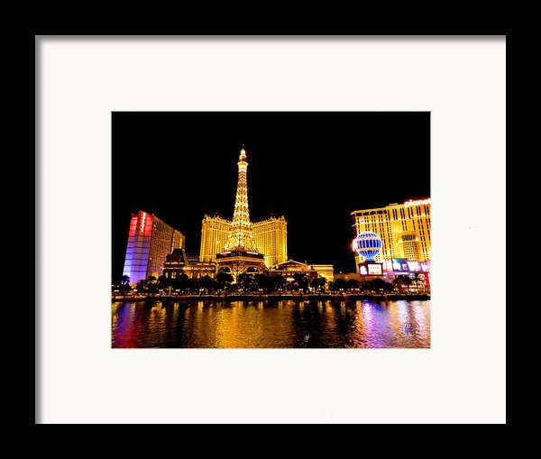 Las Vegas 012 Framed Print By Lance Vaughn