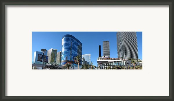 Las Vegas - Cosmopolitan Casino - 12121 Framed Print By Dc Photographer