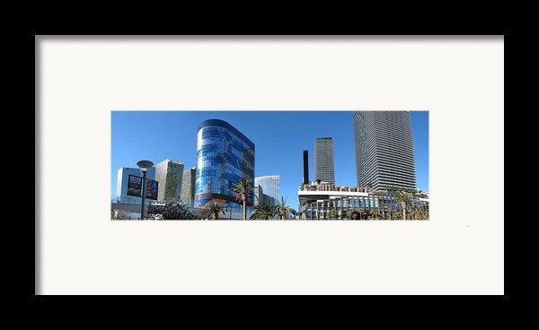 Las Vegas - Cosmopolitan Casino - 12121 Framed Print By Dc Photographer