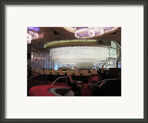 Las Vegas - Cosmopolitan Casino - 12123 Framed Print By Dc Photographer