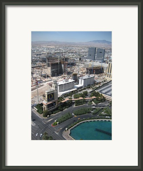 Las Vegas - The Srip - 12129 Framed Print By Dc Photographer