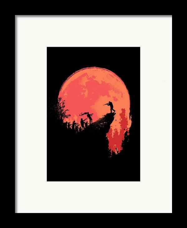 Last Stand Framed Print By Budi Satria Kwan