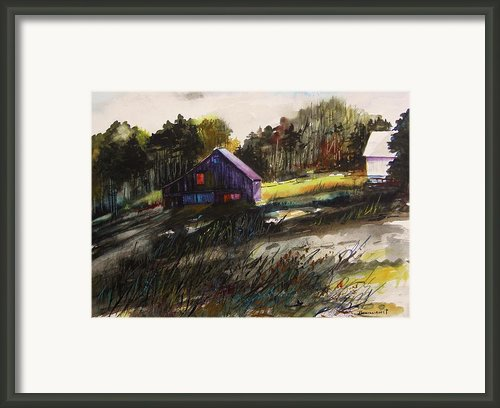 Last Sunlight Framed Print By John  Williams