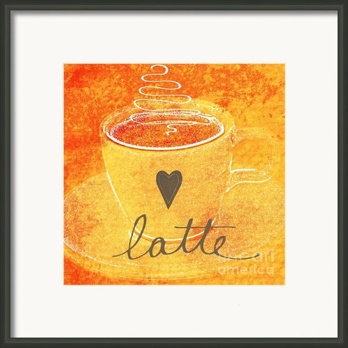 Latte Framed Print By Linda Woods