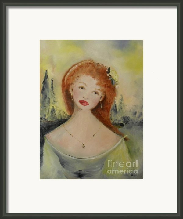 Laurel Framed Print By Laurie D Lundquist