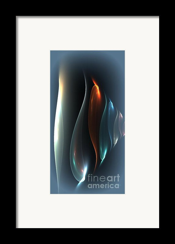 Layers Framed Print By Greg Moores
