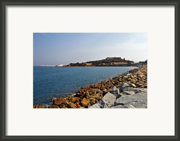Le Fort Carre - Antibes - France Framed Print By Christine Till