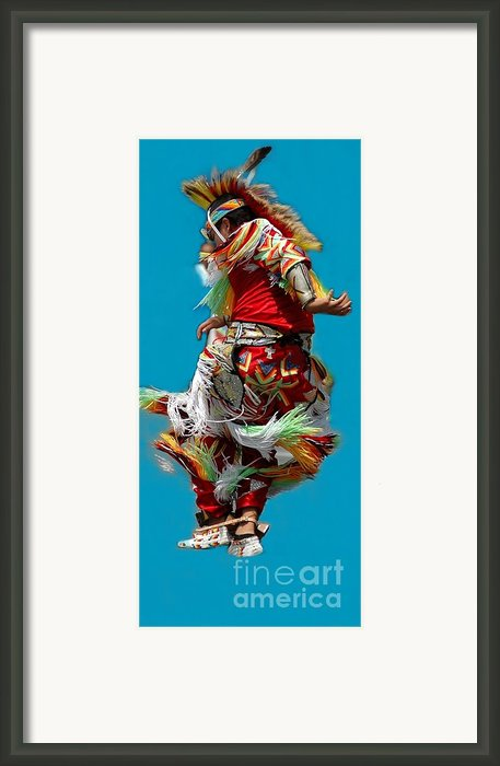 Leaping Into The Air Framed Print By Kathleen Struckle