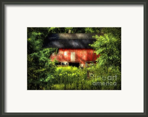 Leave Our Farms Framed Print By Lois Bryan