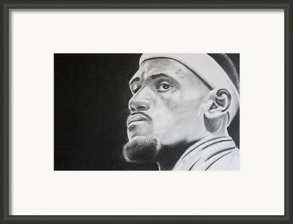 Lebron Framed Print By Don Medina