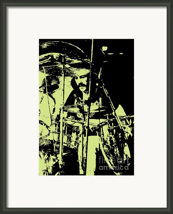 Led Zeppelin No.05 Framed Print By Caio Caldas
