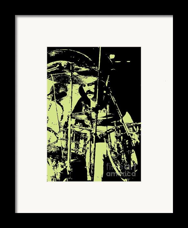 Led Zeppelin No.05 Framed Print By Caio Caldas