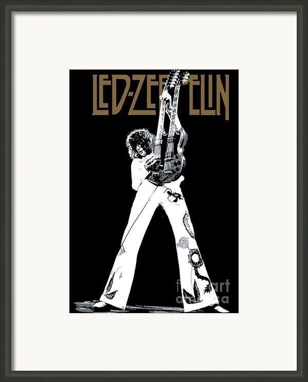 Led Zeppelin No.06 Framed Print By Caio Caldas