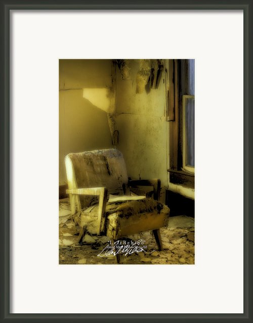 Left Behind-series 02 Framed Print By David Allen Pierson