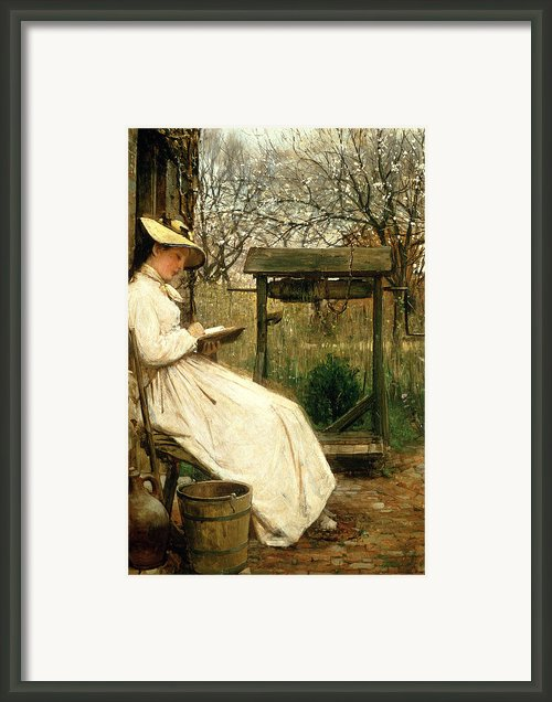 Leisure Hours Framed Print By John Robertson Reid