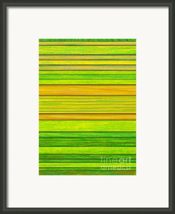 Lemon Limeade Framed Print By David K Small