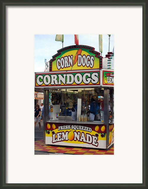 Lemonade Framed Print By Skip Willits