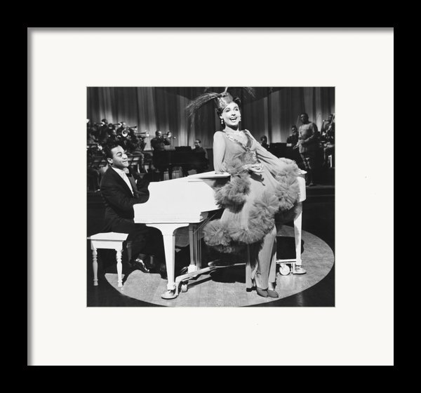 Lena Horne In Stormy Weather Framed Print By Underwood Archives