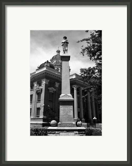 Lest We Forget Framed Print By David Lee Thompson