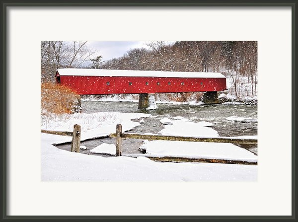 Let It Snow-let It Snow Framed Print By Thomas Schoeller