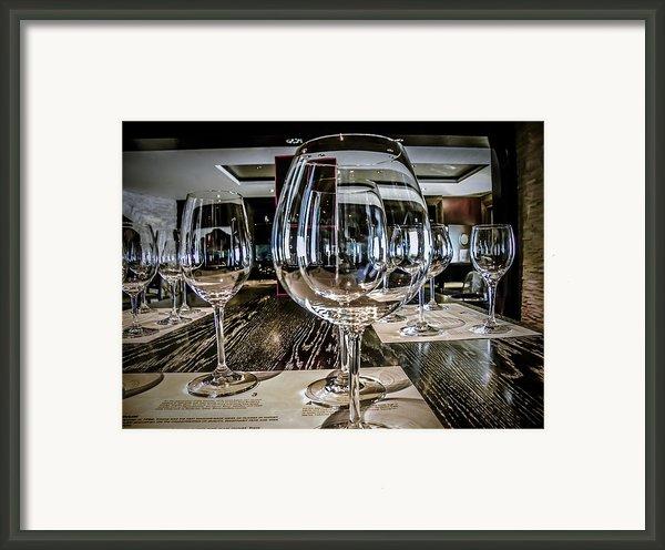Let The Wine Tasting Begin Framed Print By Julie Palencia