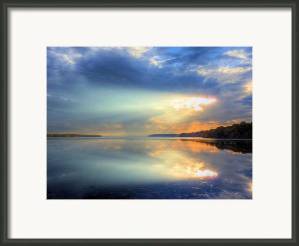 Let There Be Light Framed Print By Jc Findley