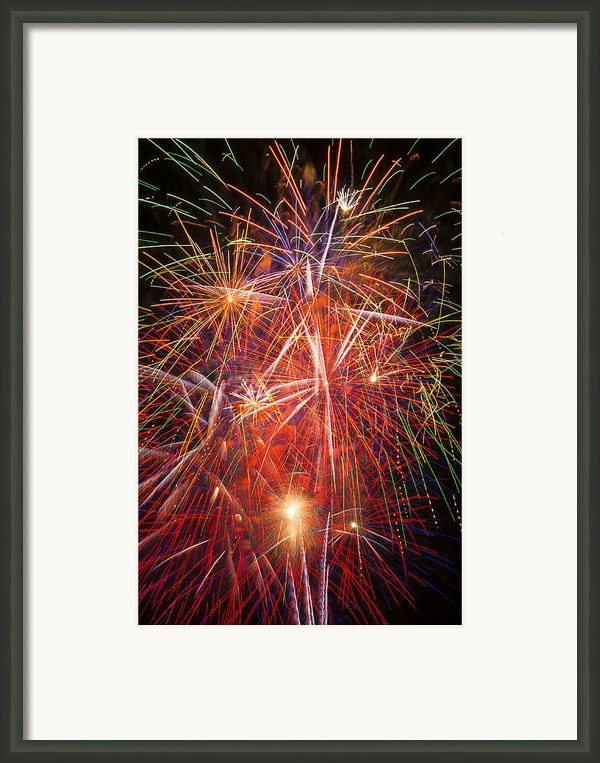 Let Us Celebrate Framed Print By Garry Gay