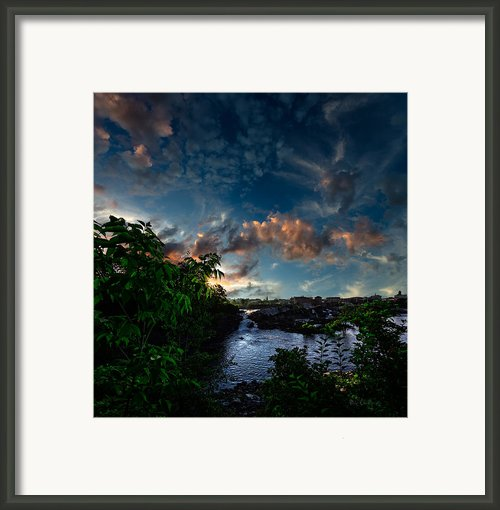 Lewiston In July Framed Print By Bob Orsillo