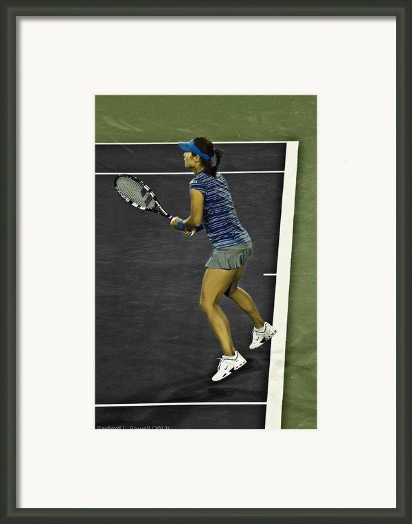 Li Na Framed Print By Rexford L Powell