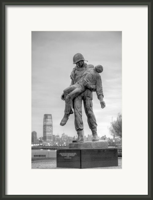 Liberation  Framed Print By Jc Findley