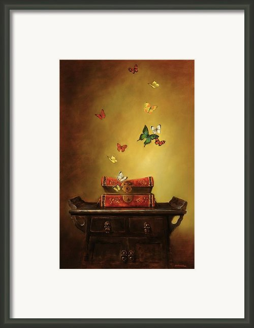 Liberation - Tibetan Dream Framed Print By Lori  Mcnee